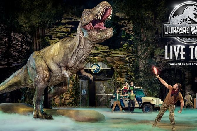 Jurassic World Live Tour Featured Image
