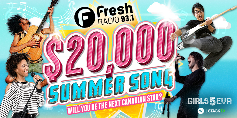 FRESH 93.1 $20,000 SUMMER SONG IS BACK!