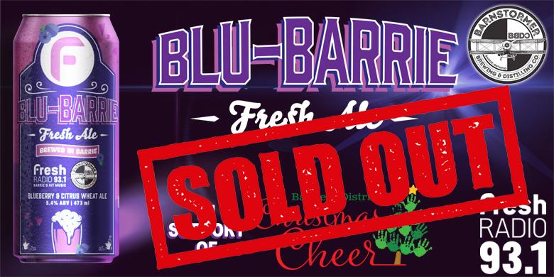 Christmas In July – Blu-Barrie Fresh Ale