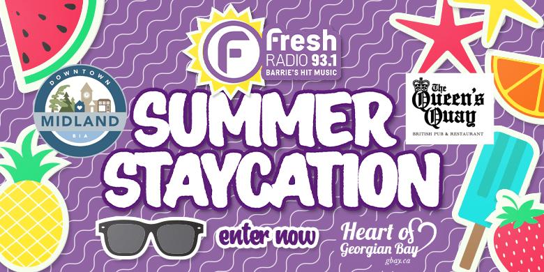 Fresh 93.1 Summer Staycation – Week 6