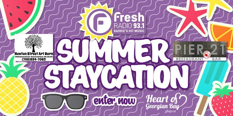 Fresh 93.1 Summer Staycation – Pier 21 & Newton Street Art Barn