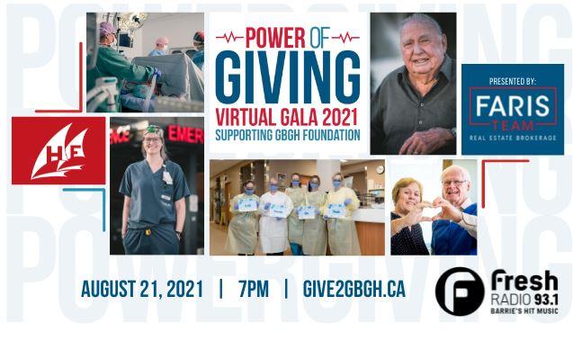 POWER OF GIVING VIRTUAL GALA 2021