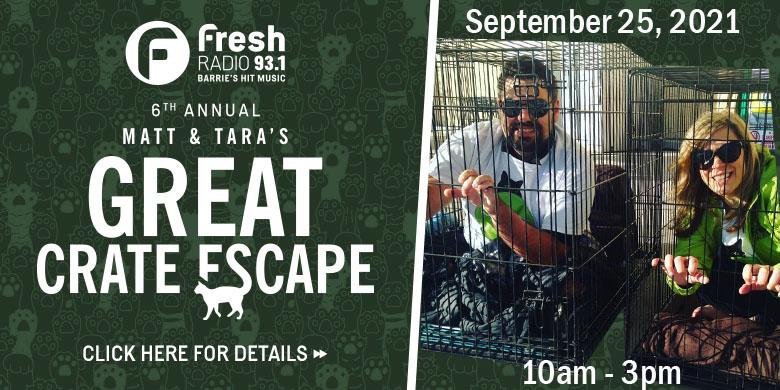 Matt & Tara's Great Crate Escape